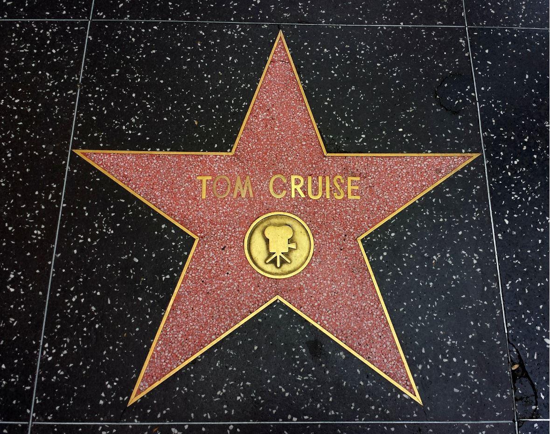tom cruise hollywood walk of fame start