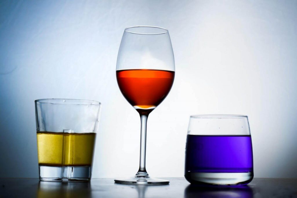 Multi-Coloured Drinks